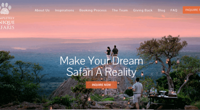 WordPress Website – 4 Page